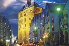 Reise Kolberg Innenstadt abends