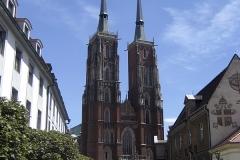 Reise Breslau Dom außen