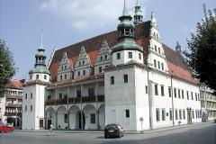 Reise Oppeln Rathaus Brieg