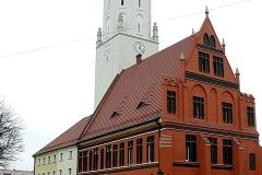 Reise Oppeln Rathaus Namslau