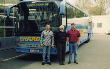 2004: Abholung des Busses 319 UL in Ulm