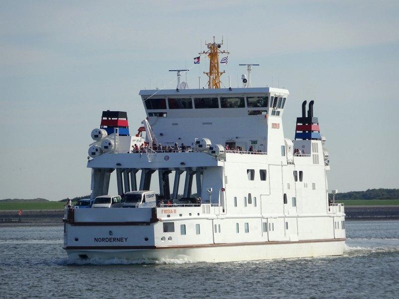 Fährschiff nach Norderney