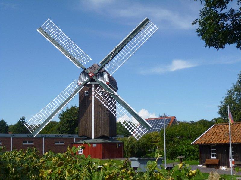 Windmühle in Dornum
