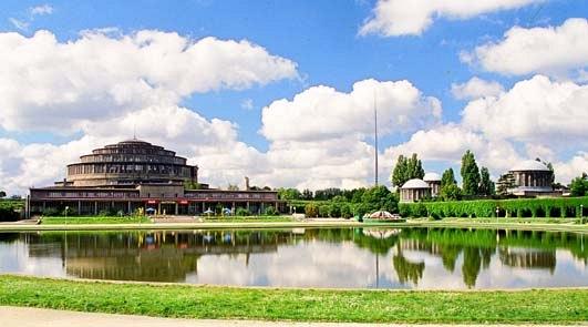Die Breslauer Jahrhunderthalle