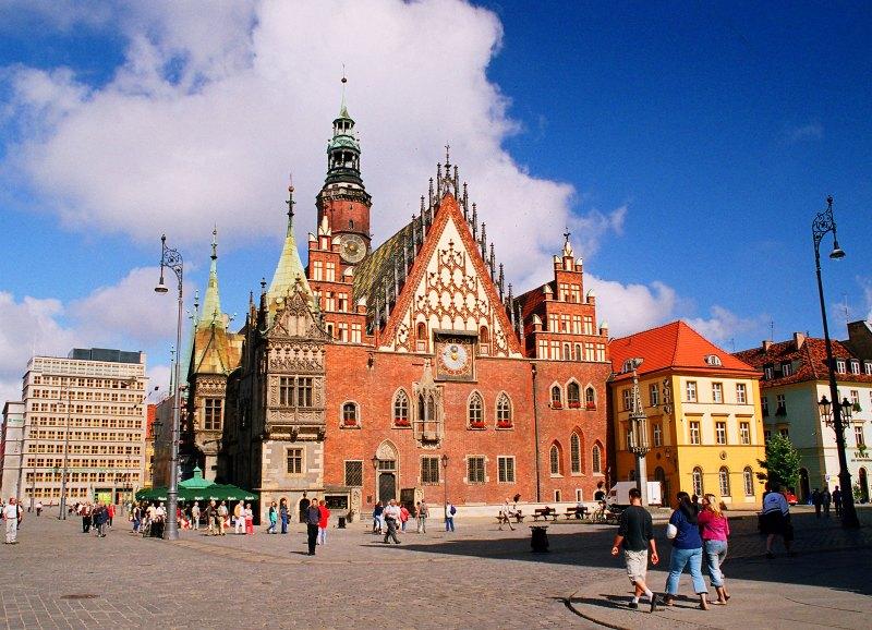 Das Breslauer Rathaus